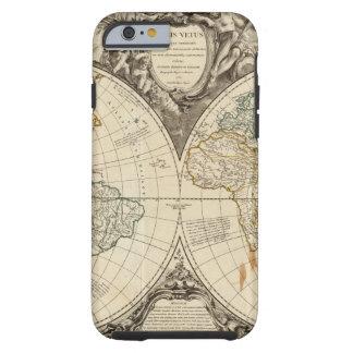 World Map 8 Tough iPhone 6 Case