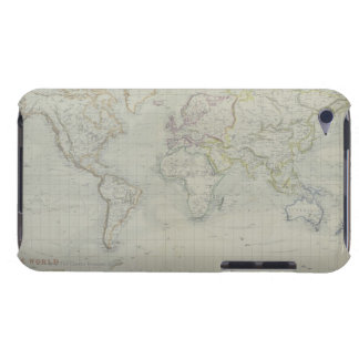 World Map 9 Barely There iPod Covers