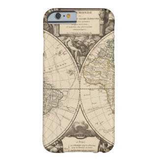 World Map 9 Barely There iPhone 6 Case
