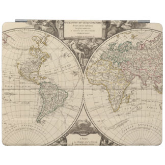 World Map 9 iPad Cover