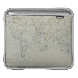 World Map 9 iPad Sleeve
