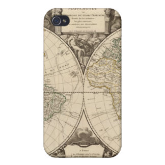 World Map 9 iPhone 4 Cases