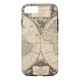 World Map 9 iPhone 8/7 Case
