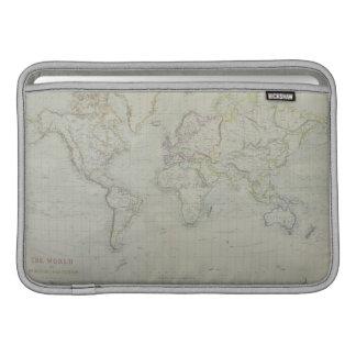 World Map 9 MacBook Air Sleeves