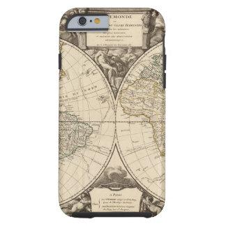 World Map 9 Tough iPhone 6 Case
