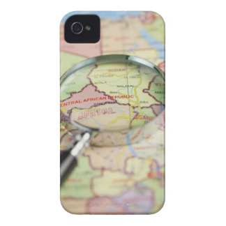 World Map, Africa iPhone 4 Case-Mate Cases