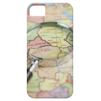 World Map, Africa iPhone 5 Cases