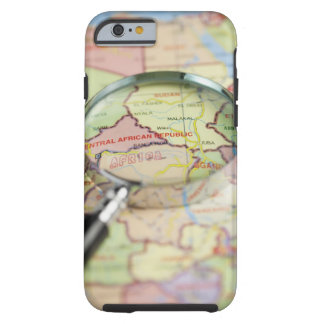 World Map, Africa Tough iPhone 6 Case