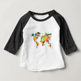 world map baby T-Shirt