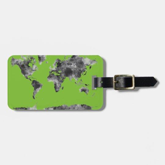 WORLD MAP BG3 - LUGGAGE TAG