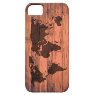 World Map Brand Case For The iPhone 5