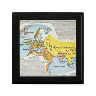 WORLD MAP, c1300. Gift Box