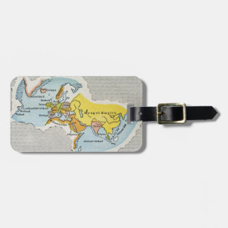 WORLD MAP, c1300. Luggage Tags