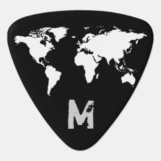 world map customizable plectrum