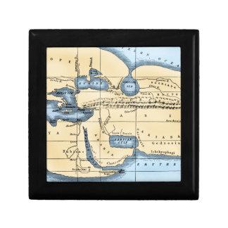 WORLD MAP: ERATOSTHENES GIFT BOX