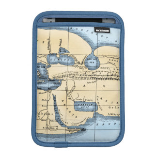 WORLD MAP: ERATOSTHENES iPad MINI SLEEVE