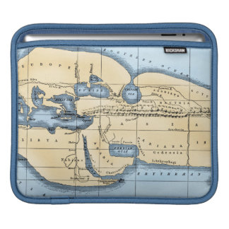 WORLD MAP: ERATOSTHENES iPad SLEEVE