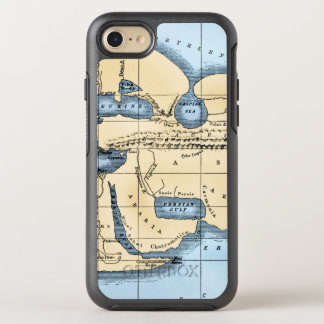 WORLD MAP: ERATOSTHENES OtterBox SYMMETRY iPhone 8/7 CASE
