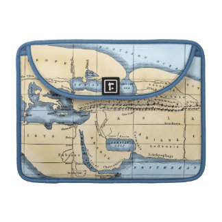 WORLD MAP: ERATOSTHENES SLEEVE FOR MacBooks