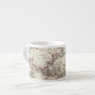 World Map Espresso Cup