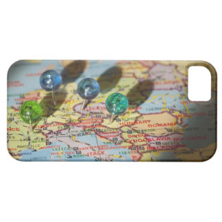 World Map, Europe iPhone 5 Covers