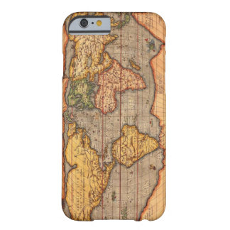 World map from 1601 barely there iPhone 6 case