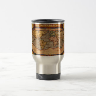 World map from 1601 mug