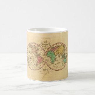 World Map from Antiquity 1 Basic White Mug
