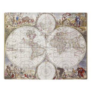 World Map from Atlas Maior Jigsaw Puzzle