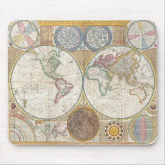 World Map Gifts Mouse Mat
