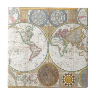 World Map Gifts Tile