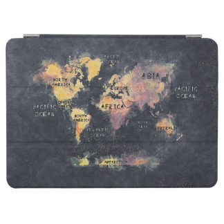 world map iPad air cover