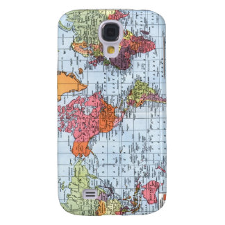 World Map iPhone 3G case