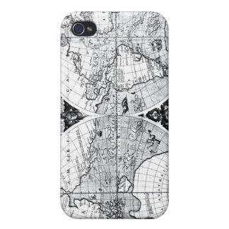 World map iPhone 4/4S cases