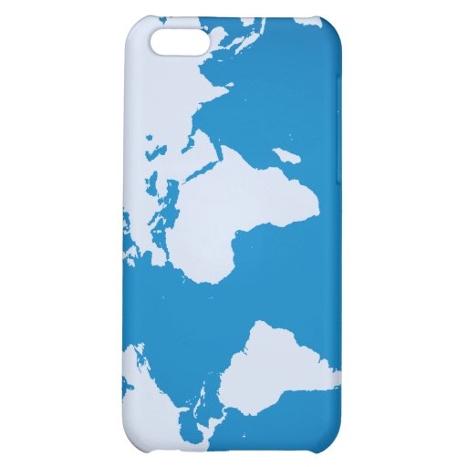 World Map iPhone 5C Cover