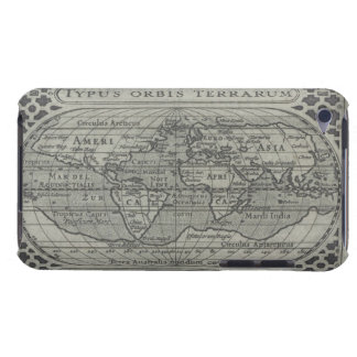 World Map iPod Case-Mate Case