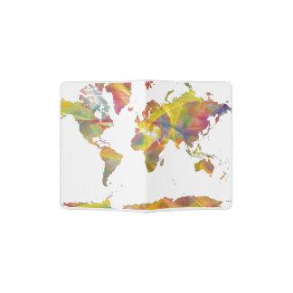 WORLD MAP MC 2 PASSPORT HOLDER