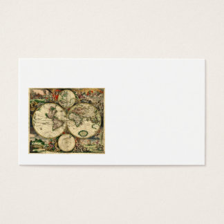 World Map of 1689 Gifts Business Card