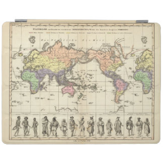 World Map of Clothing Styles iPad Cover