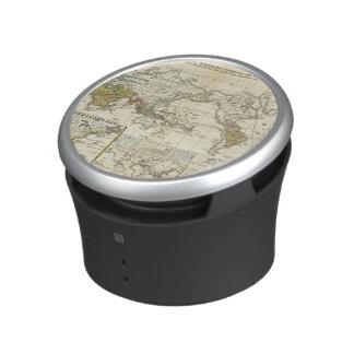 World Map of Diseases Bluetooth Speaker