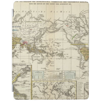 World Map of Diseases iPad Cover