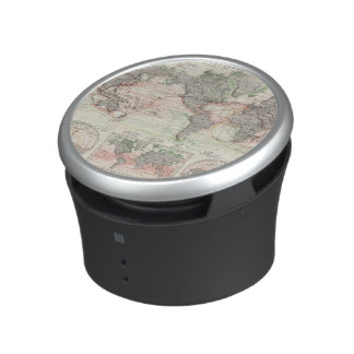 World Map of Ocean Currents Bluetooth Speaker