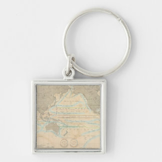 World Map of the Climate Key Ring
