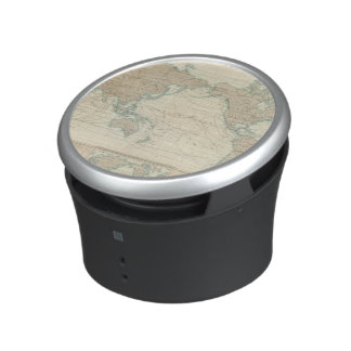 World Map of the Shipping Canals Speaker
