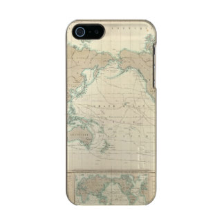 World Map of the Shipping Canals Incipio Feather® Shine iPhone 5 Case
