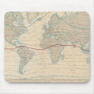 World Map of the Vegetation Mouse Mat