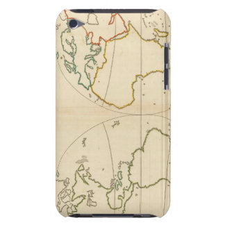 World Map Outline Barely There iPod Cover