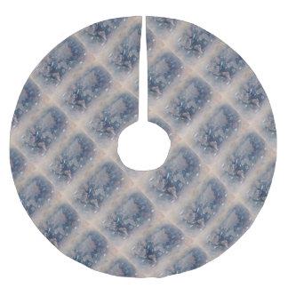 world map sealife brushed polyester tree skirt
