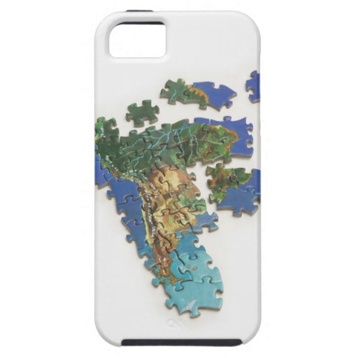World Map, South America 2 iPhone 5 Cover
