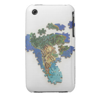 World Map, South America 2 Case-Mate iPhone 3 Cases